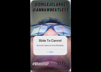 Slide To Cancel <br> by Emile Clarke & Anna Wheatley